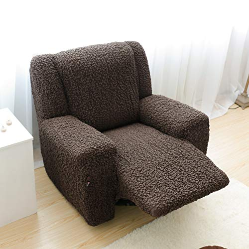 SQINAA Stretch Recliner Slipcover,Jacquard Sofa Cover Fit Sofa slipcover,3 Cushion Couch 1-Piece Furniture Protector for Pets-G Three Seats