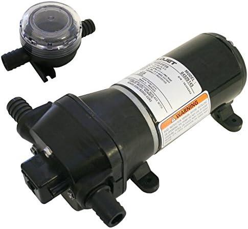 FloJet Heavy Duty Deck Wash Pump 40psi//4.5GPM//12V 04325143A