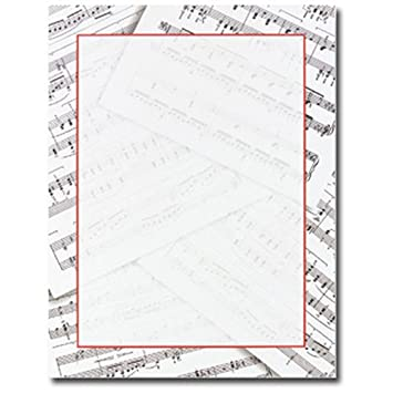 sheet music teacher kids themed computer printer paper - Kids Printing Paper