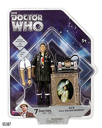 Doctor Who Action Figures - Ace - 7th Doctor Companion From Silver Nemesis by Doctor Who
