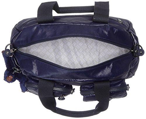 Kipling - Defea, Bolsos maletín Mujer, Blau (Lacquer Indigo), 33x24.5x0.1 cm (B x H T) Azul (Lacquer Indigo)