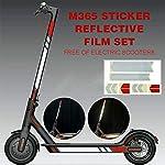 Gshhd88-Riflettente-Adesivi-Scooter-Elettrico-Attenzione-Luce-Paster-Etichette-Strip-Sicurezza-Pratico-Styling-Riflettore-Notte-PVC-Decalcomanie-per-Xiaomi-Mijia-M365