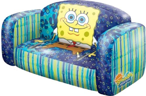 Good Amazon.com: Nickelodeon SpongeBob Inflatable Sofa By Rand: Toys U0026 Games