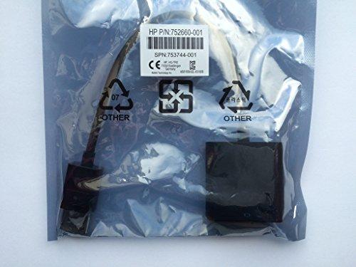 HP F7W96AA DisplayPort to DVI Adapter - DisplayPort Adapter - DVI-D (F) to DisplayPort (M) - Black - for EliteBook 745 G3, 755 G3, 820 G2, 840 G2, 850 G2; ProBook 64X G1, 64X G2, 65X G1, 65X G2 (Active Dp To Sl Dvi D Adapter)