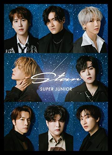 [2021년 1월 27일 발매 예정] 슈퍼 주니어 - Star(CD3매 셋트 / 통상반 / 비주얼 씨트 부착)