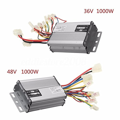 ic Scooter Speed Controller Motor Brush For Vehicle Bicycle (48V1000W) (36V1000W) (Street Bike Saddlebag)