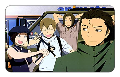 DURARARA Anime Stylish Stylish Stylish Playmat Mousepad (24 x 14) Inches [MP] DURARARA-13 b97346