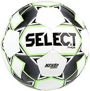 Select Sport Select Thor Soccer Ball, White/Black/Green, Size 5