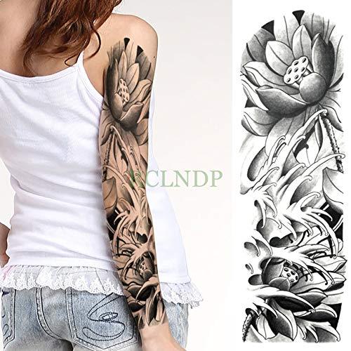 ljmljm 3 Piezas Tatuaje Impermeable Etiqueta engomada del ...