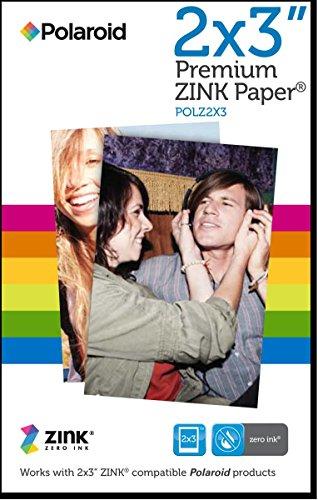 Polaroid 2x3ʺ Premium ZINK Zero Photo Paper 30-Pack - Compatible with Polaroid Snap / SnapTouch Instant Print Digital Cameras & Polaroid ZIP Mobile Photo Printer from Polaroid