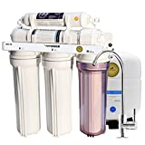 [75 GPD] VIVOSUN 5-Stage Ultra Safe Reverse Osmosis RO Drinking Water Filtration System w/ WQA Gold Seal
