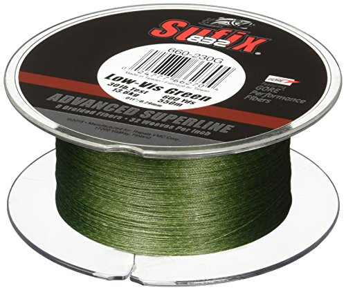 Sufix 832 Braid Line-600 Yards (Green, 20-Pound) For Sale