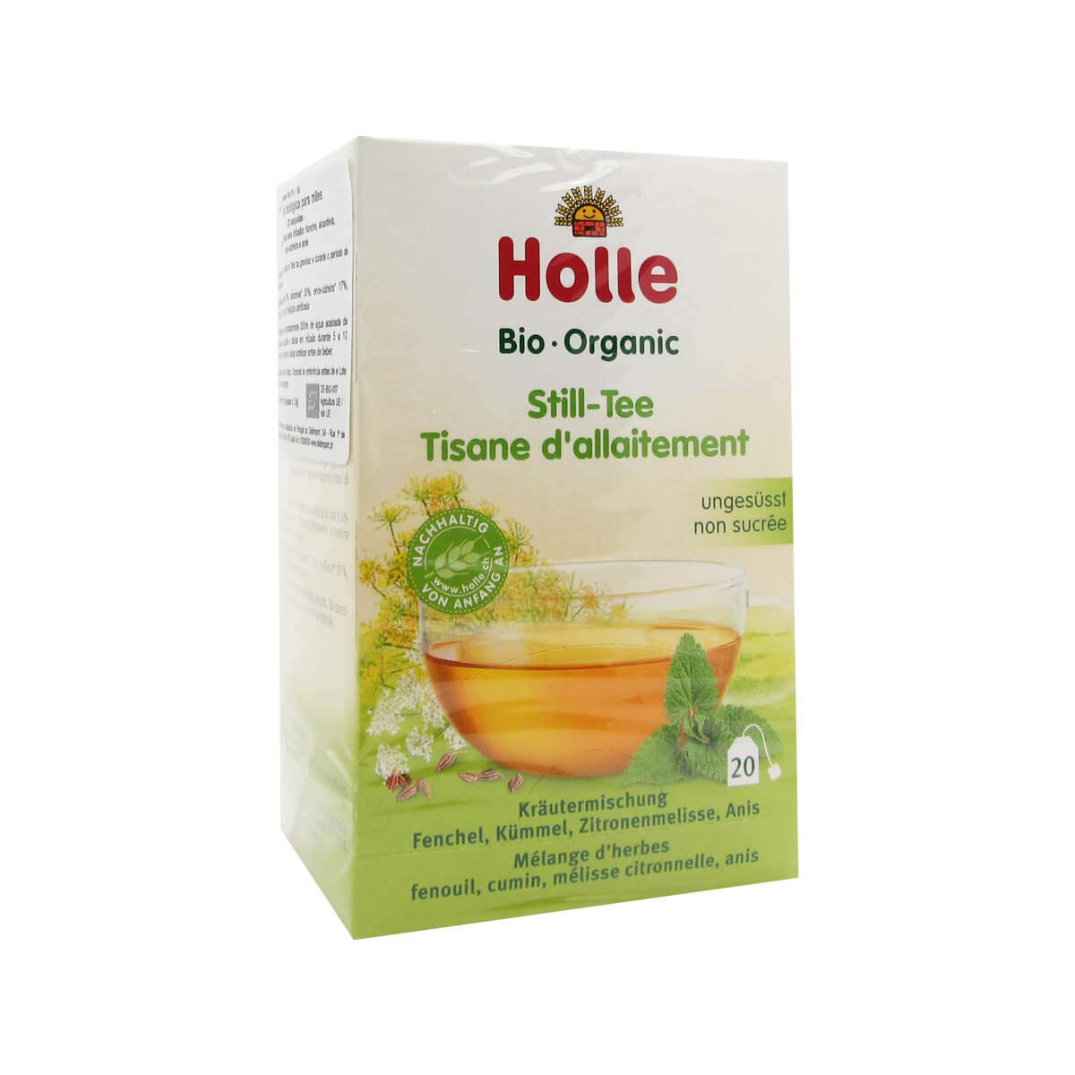 Holle Bio Infusion Pregnant And Breastfeeding 20x1.5g