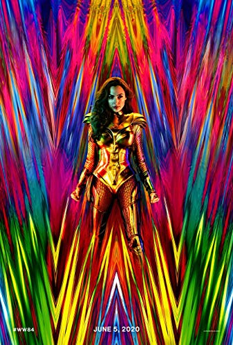 WONDER WOMAN 1984 MOVIE POSTER 2 Sided ORIGINAL Advance 27x40 GAL GADOT (2 Giant Poster)