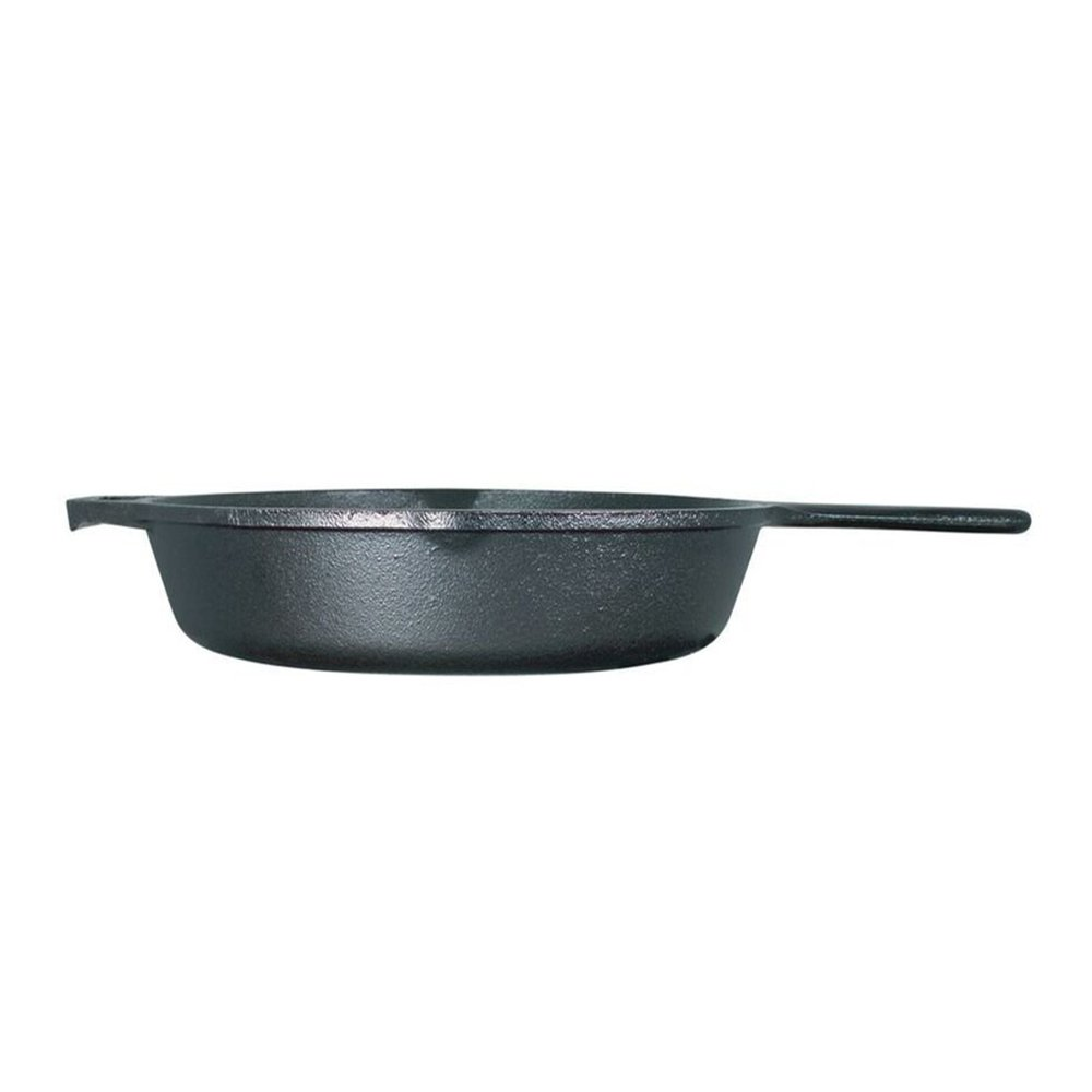 Lodge Logic Cast-Iron Skillet With Assist Handle by Lodge: Amazon.es ...