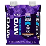 EAS Myoplex Original Build Muscle Shakes Chocolate Fudge Review and Comparison