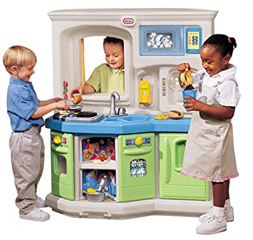 Amazon.com: Little Tikes Cookin Fun Interactive Kitchen: Toys & Games