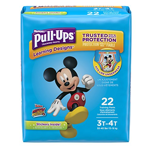 Pull-Ups Learning Designs Potty Training Pants for Boys, 3T-4T (32-40 lb.), 22 Ct. (Packaging May Vary) (Writing A Review For A Personal Trainer)