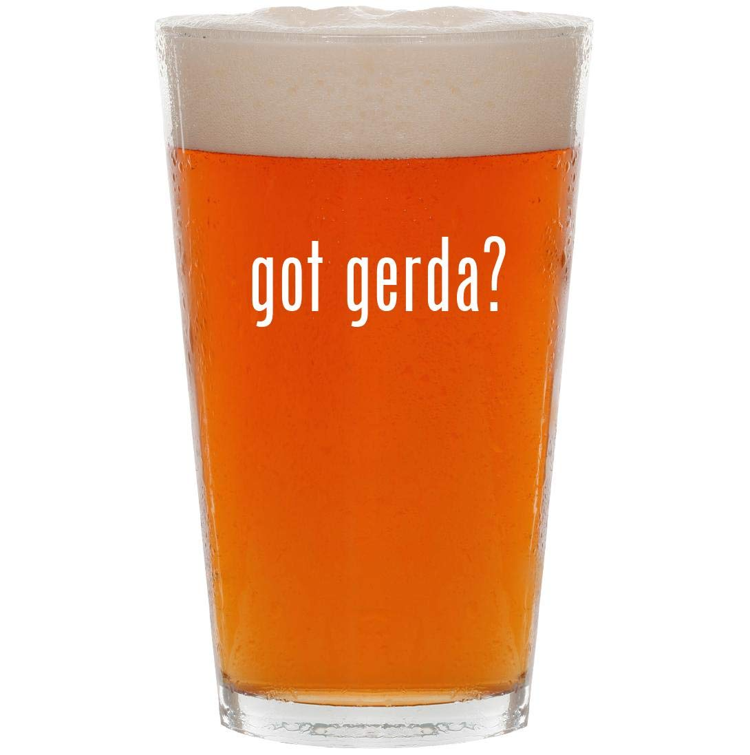 got gerda? - 16oz All Purpose Pint Beer Glass by Knick Knack Gifts