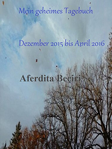 Mein geheimes Tagebuch: Dezember 2015 bis April 2016 (German Edition) (Dezember Tagebuch)