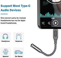 USB C auf 3,5mm Audio Adapter Typ C KlinkenAdapter Aux Kabel Kompatibel mit OnePlus Nord 8 7T 7 Pro 6T Huawei P40 P20 P30 Pro Wei/ß TITACUTE USB C Klinke Adapter f/ür Oneplus 8 Pro Kopfh/örer Adapter
