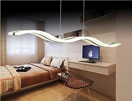 Kasy led®   lámpara de techo colgante acrílica, 38w, 220v 240v ...