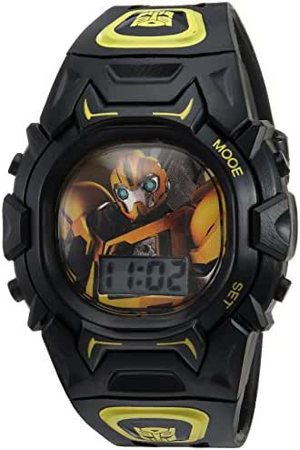 Hasbro Boy's Quartz Plastic Casual Watch, Color:Black (Model: TF2003)