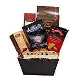 A Sweet Gift Basket of Gourmet Treats & Snacks Perfect as A Gift Basket With Sweet Sensations