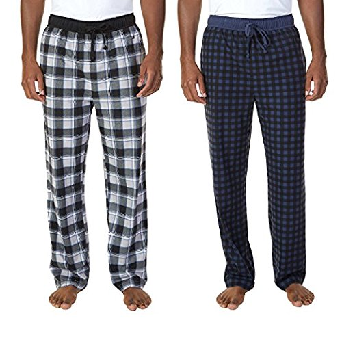Mood Indigo, Medium 00/_GSFXBWON/_02 Nautica Mens 2-pack Fleece Pant