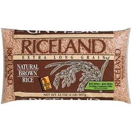 Riceland Natural Large Brown Rice, 2 lb