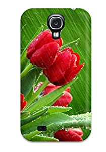 Galaxy Cover Case Specially Made For Galaxy S4 Roses In The Rain