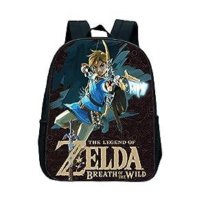 Zelda School Bag The Legend of Zelda Backpack Kids School Bags Zelda Breath of The Wild Toddler Backpack Rugtas Kinderen…