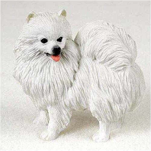 American Eskimo, Miniature Original Dog Figurine ()