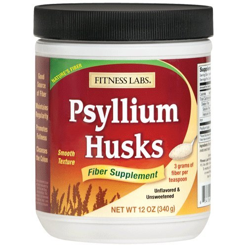 Fitness Labs Psyllium Husks, 12 Ounces (Psyllium Husk For Baking compare prices)
