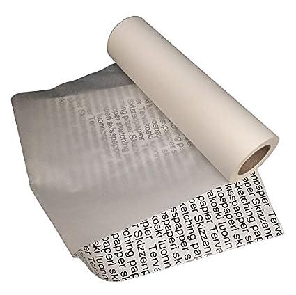 tervakoski rollo de papel para bocetos ideal para trazar y