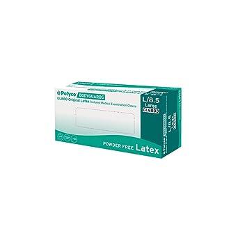 PBS Medicare gl8803 Original sin polvo guantes de látex, talla 9/grande, color blanco (Pack de 100): Amazon.es: Industria, empresas y ciencia