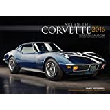 Art of the Corvette Deluxe 2016: 16-Month Calendar September 2015 through December 2016 - Includes 17x12 Art Print 1966 Sting Ray L72 Convertible