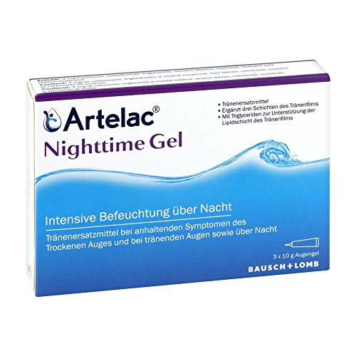 Artelac Nighttime Gel, 3X10 g
