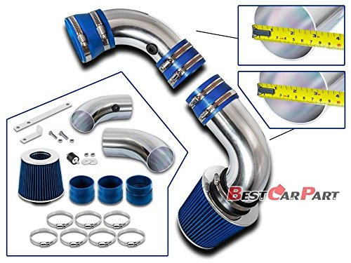 Velocity Concepts 1996-2004 Chevrolet S10 /Blazer PickUp with 4.3L V6 Engine Cold Air Intake + Filter - S10 Air Blazer