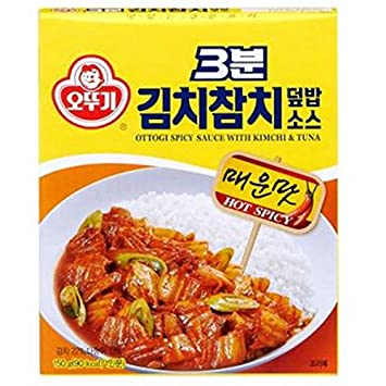 Amazon kfm korean food ottogi spicy sauce with kimchi kfm korean food ottogi spicy sauce with kimchi tuna150g altavistaventures