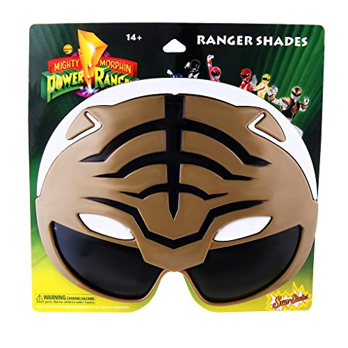 Sun-Stache Power Rangers - Sun Glasses - Shades - Sunstache - (Power Rangers Glasses)