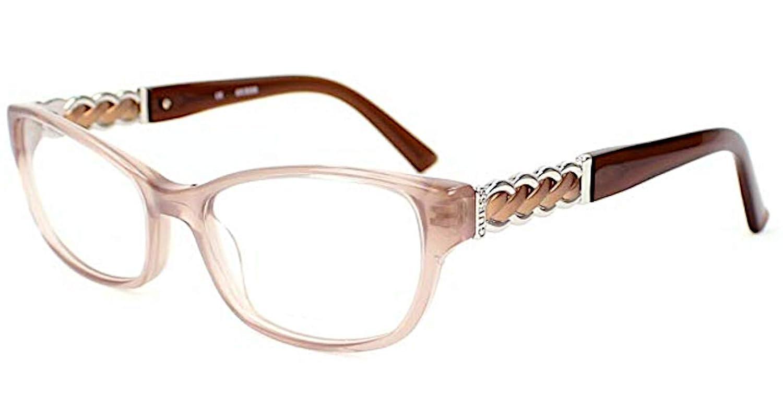 Guess - Monture de lunettes - Femme Beige beige Medium  Amazon.fr   Vêtements et accessoires d44f2a41d8cf