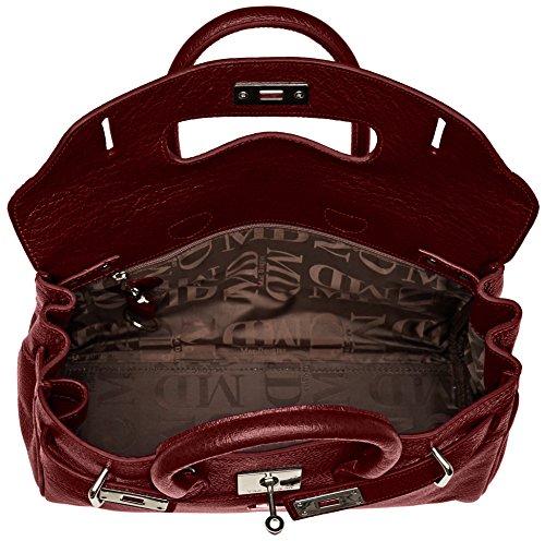 Mac Douglas Pyla Buni Xs - Bolso de asas de Piel para mujer Rouge (Rouge Griotte)