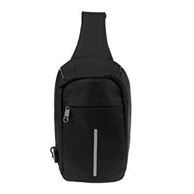 257ac0f2d7 Bagzar Unisex Anti Theft Sling Bag Shoulder Chest Bag Cross Body Backpack  Lightweight Casual Daypack with