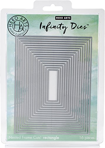 Hero Arts DI198 Rectangle Infinity Dies Card Making Kit
