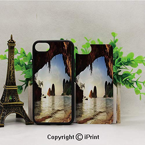Cellphone Case,Water-Eroded-Reed-Flute-Cave-Chinese-Cistern-Rain-Harvest-with-Artsy-Photo,Suitable for iPhone7 iPhone8 ()