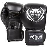 Venum Contender Boxing Gloves - Black/White