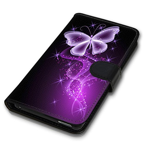 Wallet Book Style Flip Handy Tasche Case Schutz Hülle Schale Motiv Etui für Apple iPhone 6 / 6S - Design Flip MVD296