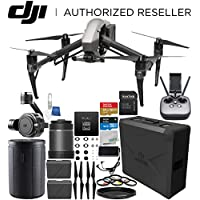 DJI Inspire 2 Quadcopter with CinemaDNG and Apple ProRes Licenses with 16mm f/2.8 ASPH ND Lens & Zenmuse X7 Camera and 3-Axis Gimbal Bundle