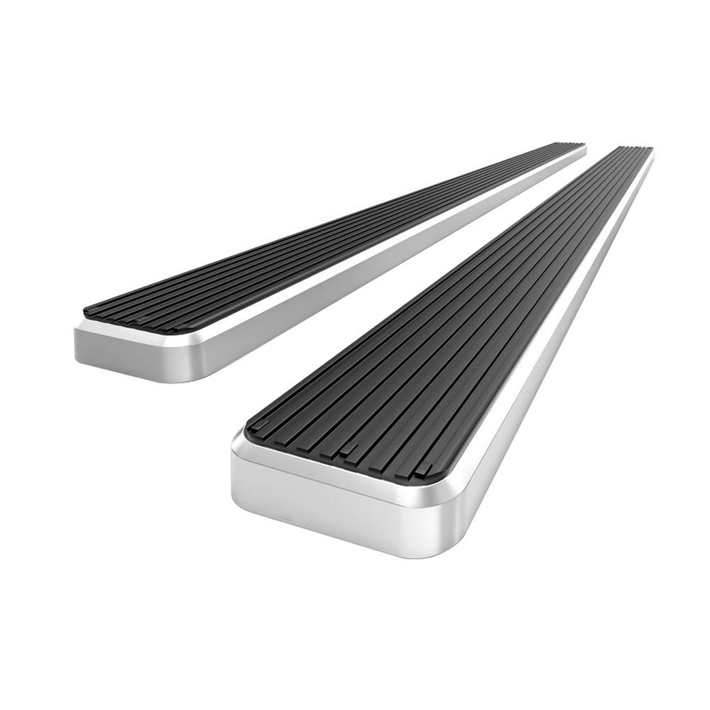 APS Premium 4' iBoard Running Boards Fit 15-19 Chevy Colorado GMC Canyon Crew Cab